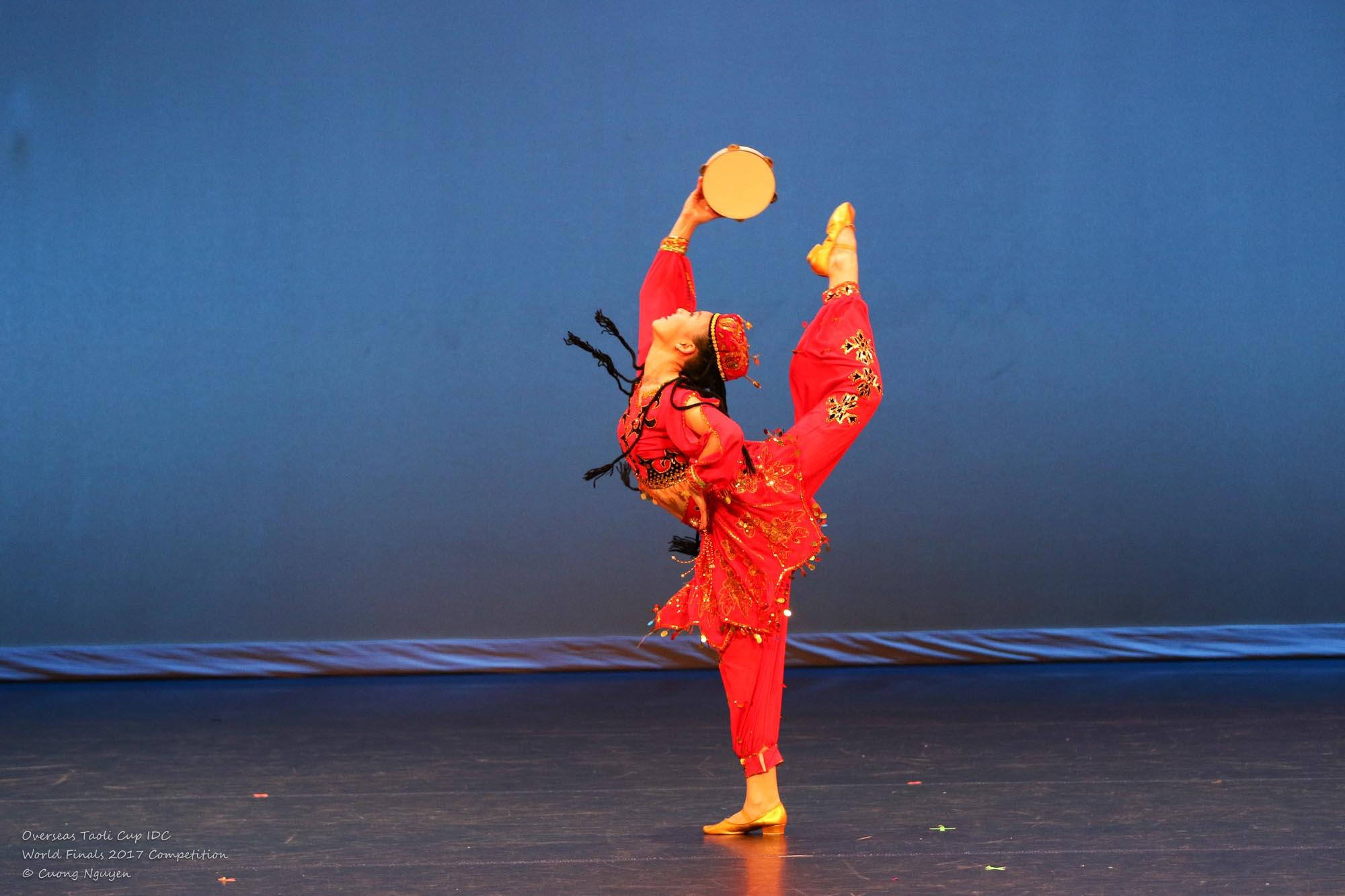 Dancing Tambourine Eileen Hsiao