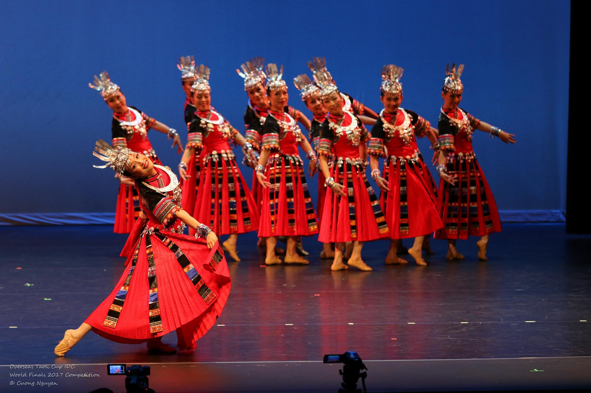 A Touch of Red Jade Plum Dance Group